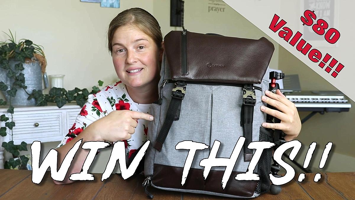Tarion Camera Backpack Giveaway Giveaway Image
