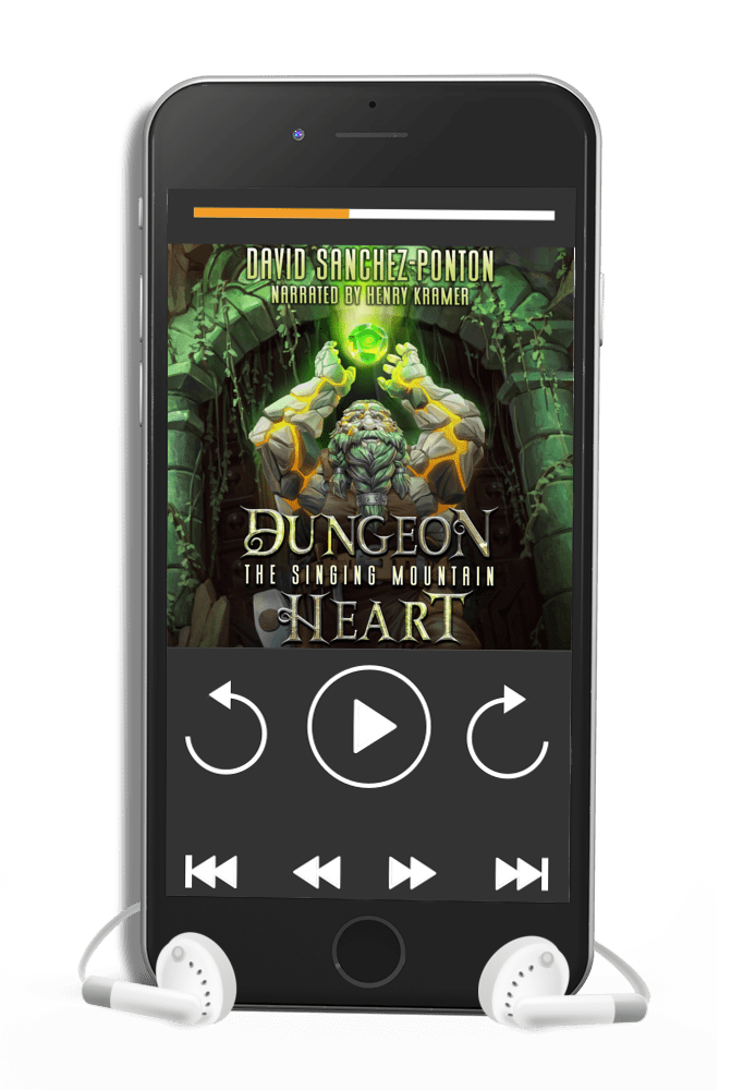 Enter to win an Audible copy of Dungeon Heart from author David Sanchez-Ponton. 10 Winners! Giveaway Image