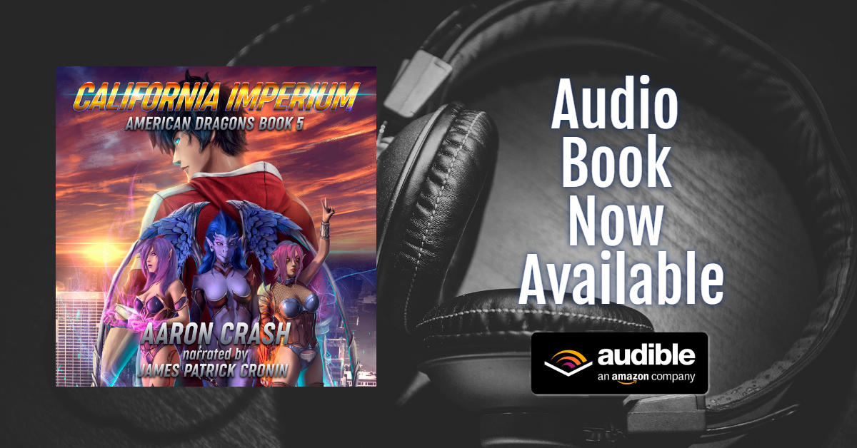 American Dragons 5: California Imperium Audio Code Giveaway  Open to US and UK Audible Store users Giveaway Image