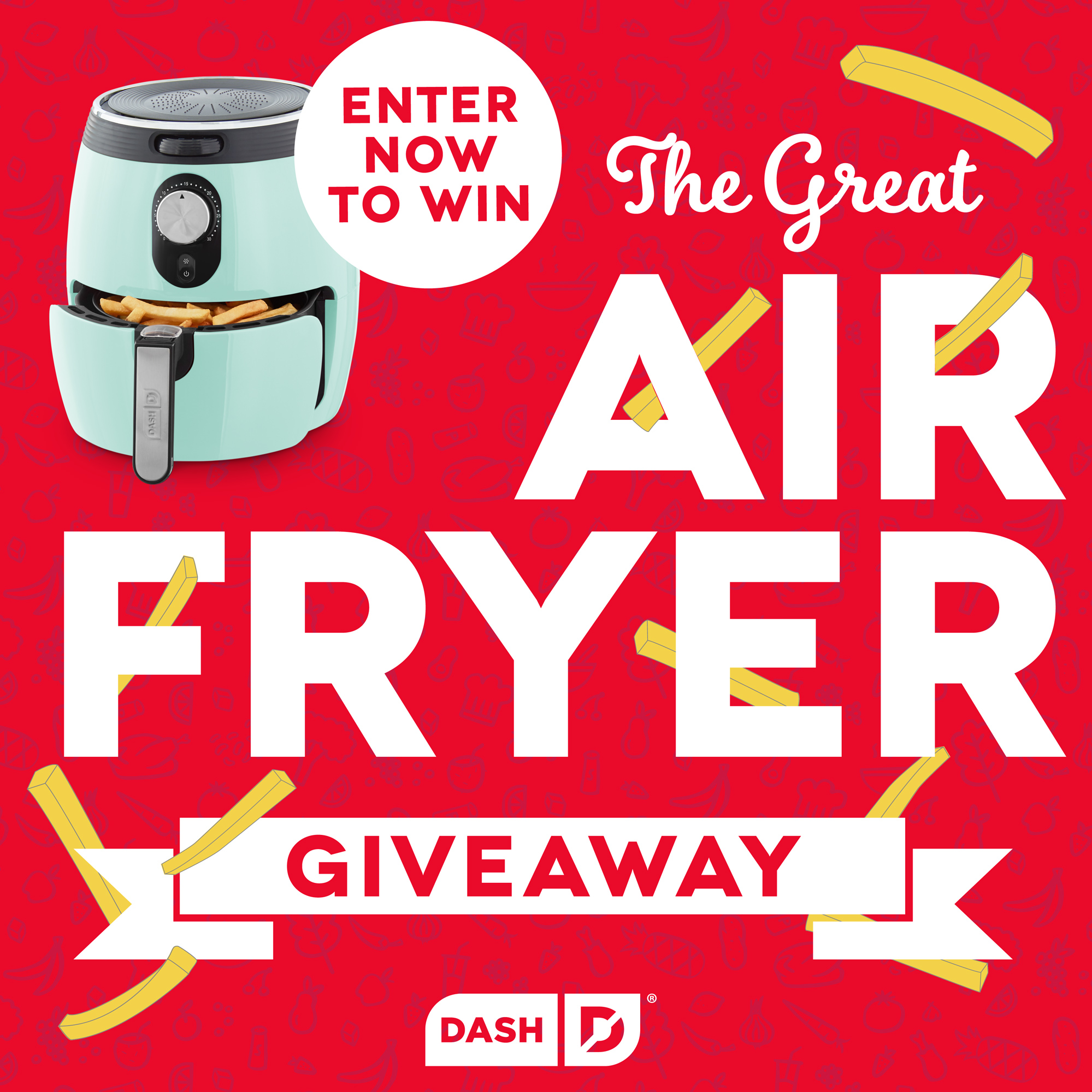 The Great Air Fryer Giveaway Giveaway Image