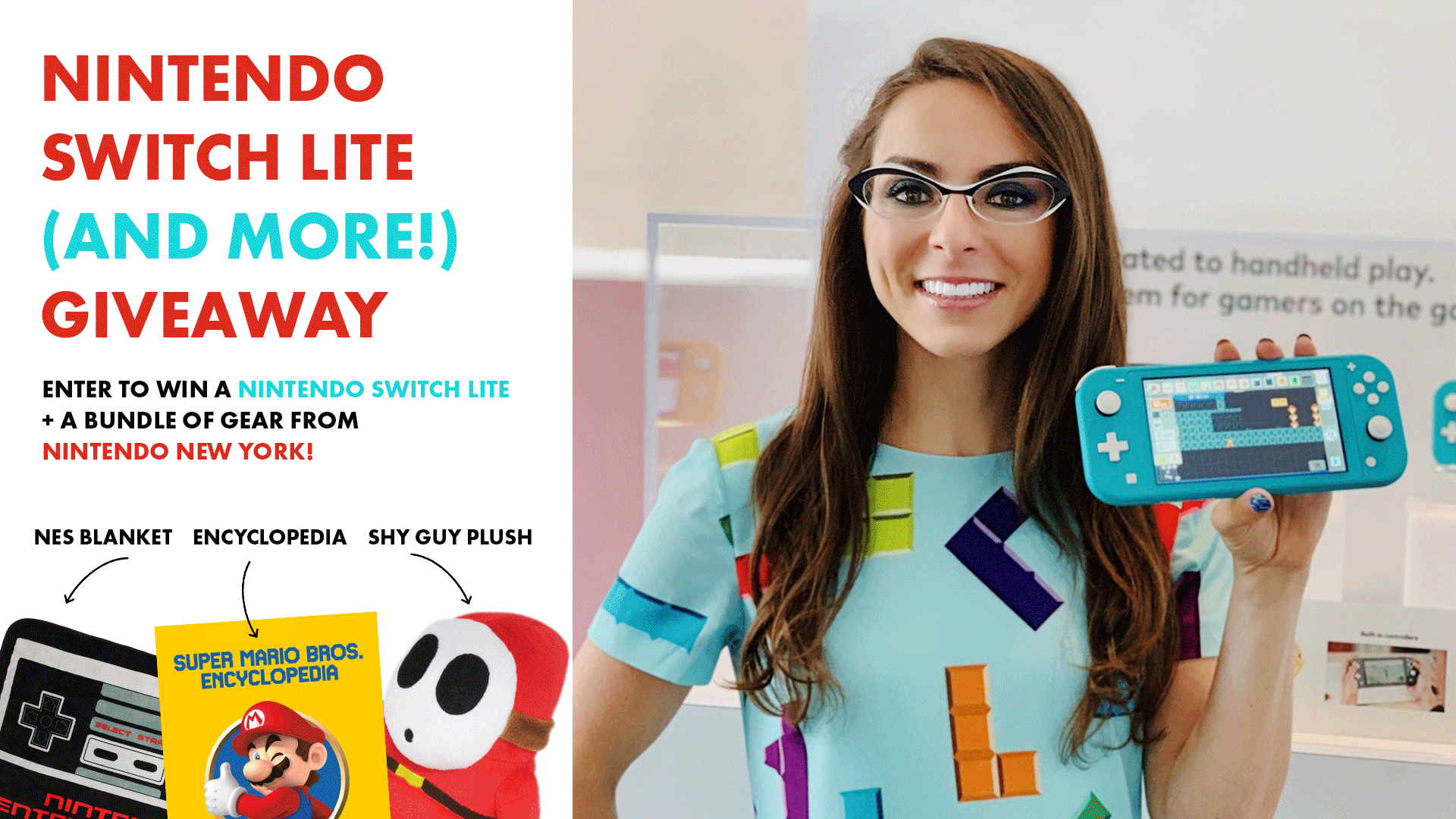 Nintendo Switch Lite - Ultimate Bundle Giveaway! Giveaway Image