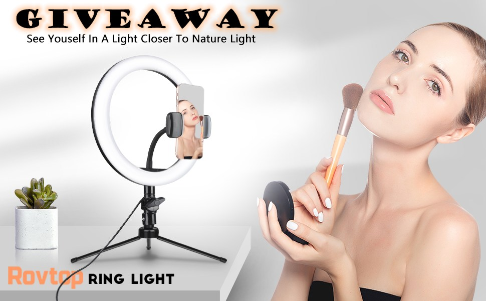 Rovtop Ring Light Giveaways Giveaway Image