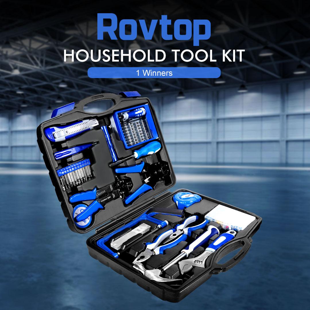 Rovtop General Household Tool Kit Giveaways