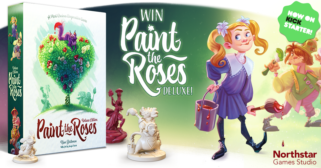 Win the board game Paint the Roses Giveaway Image