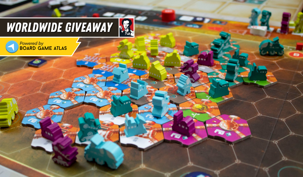 Win the board game On Mars Giveaway Image