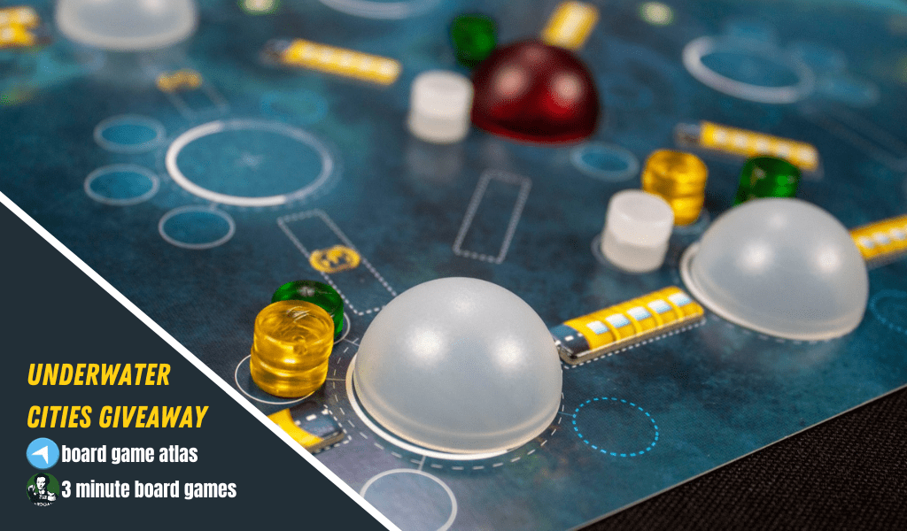 Win the board game Underwater Cities Giveaway Image