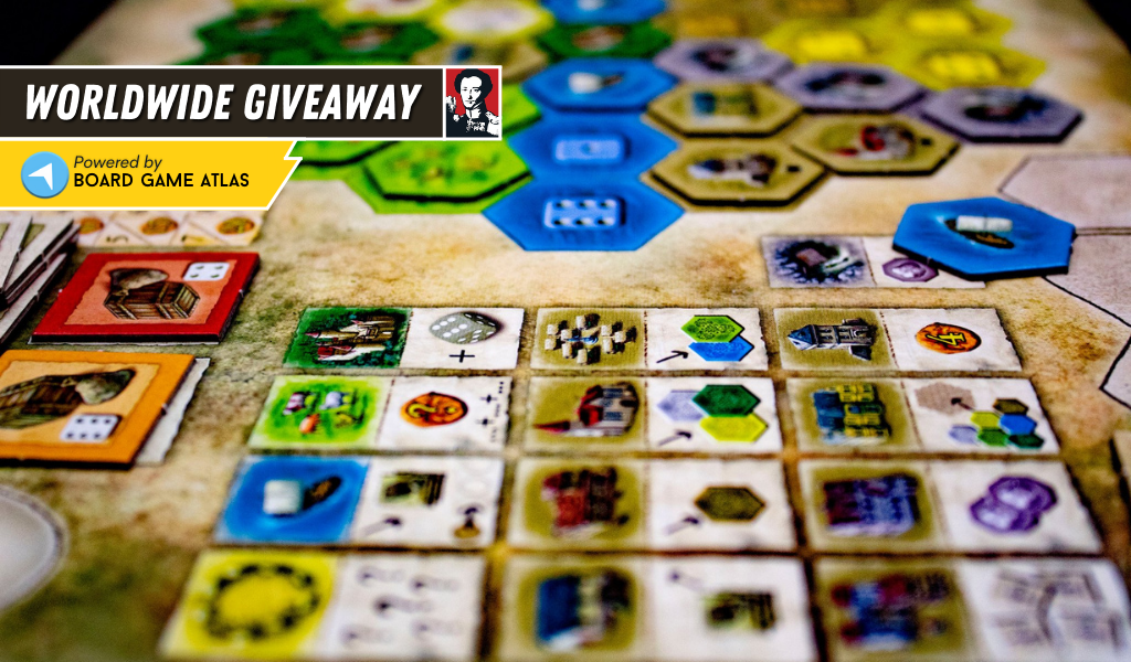 Win the board game Castles of Burgundy 20th Anniversary Edition Giveaway Image