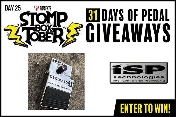 WIN an ISP Technologies Decimator II noise reduction pedal Giveaway Image