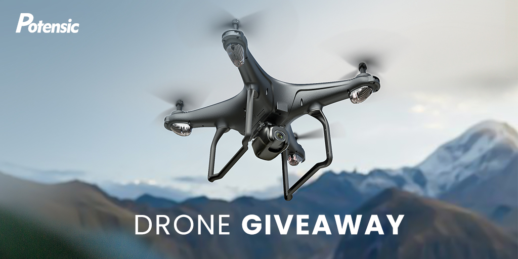 D58 GPS Drone Giveaway by Potensic Giveaway Image