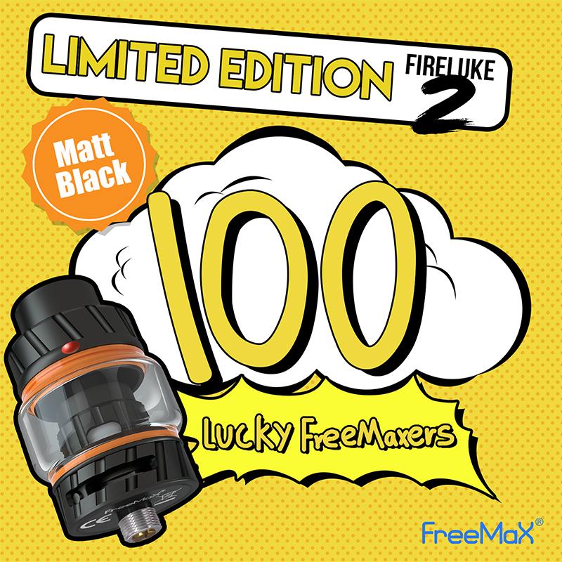 100 x Freemax Limited Edition Fireluke 2 Tank Giveaway Image