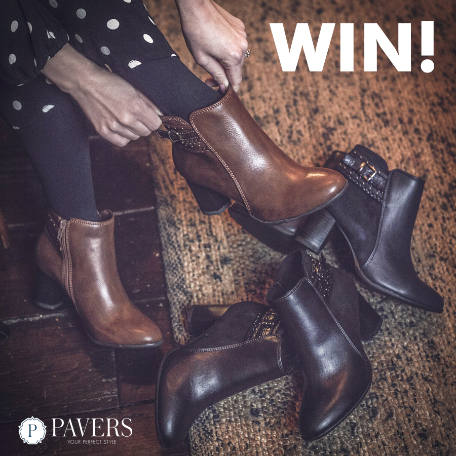 WIN - Stylish Ankle Boots! Giveaway Image