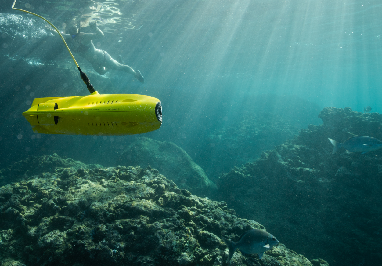 online contests, sweepstakes and giveaways - GLADIUS MINI underwater drone giveaway!