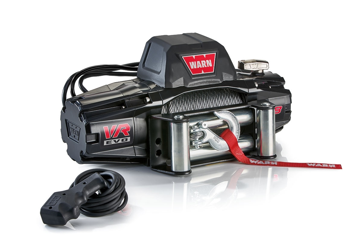 Enter for a chance to win a Warn VR EVO Winch! Giveaway Image