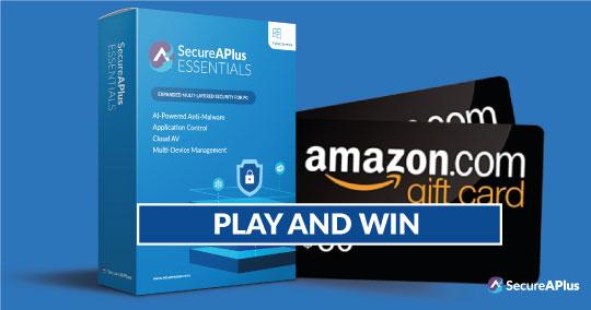 Enter for a chance to win 6-Months of SecureAPlus Essential AntiVirus Protection! Giveaway Image