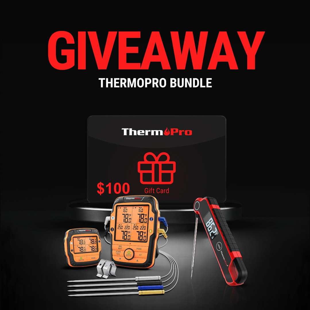 Win ThermoPro Products + $100 Gift Voucher Giveaway Image