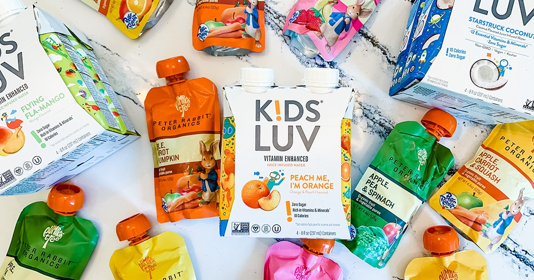 Enter to win a month supply of KidsLuv drinks and Peter Rabbit Organics pouches Giveaway Image
