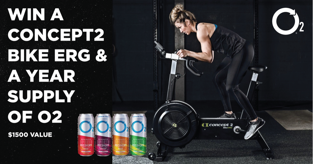 Win a Concept2 BikeErg and year of O2 Subscription Giveaway Image