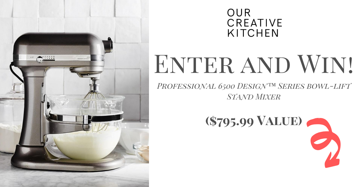 Win a Kitchen Aid Pro 6500 Stand Mixer! ($759.99 Value) Giveaway Image