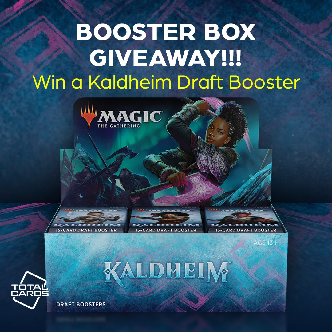 MTG - Kaldheim Draft Booster Box Giveaway Giveaway Image