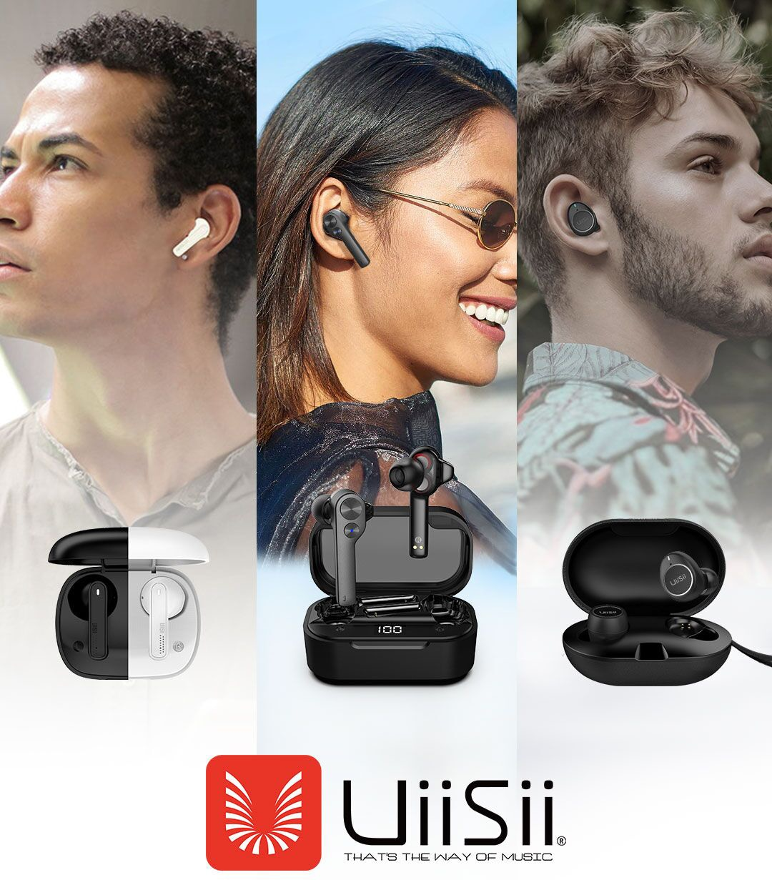 UiiSii Wireless Earbuds Giveaway