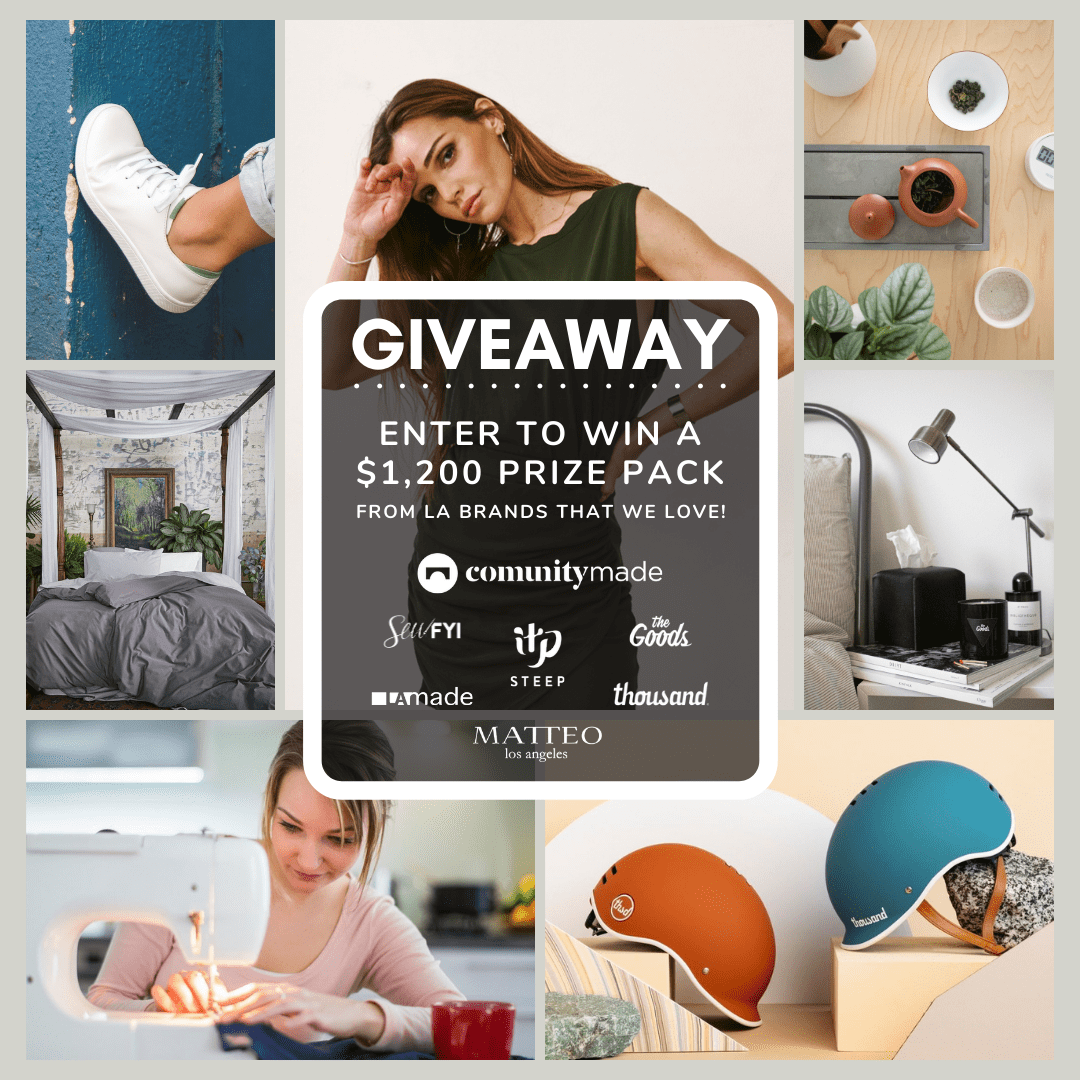 ???? Win $1,200 worth of goods from LA brands!   ???? Giveaway Image