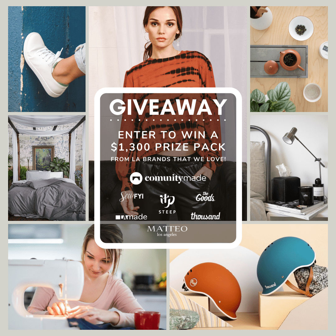 ???? Win $1,200 worth of goods from LA brands!  10/28/20 Giveaway Image
