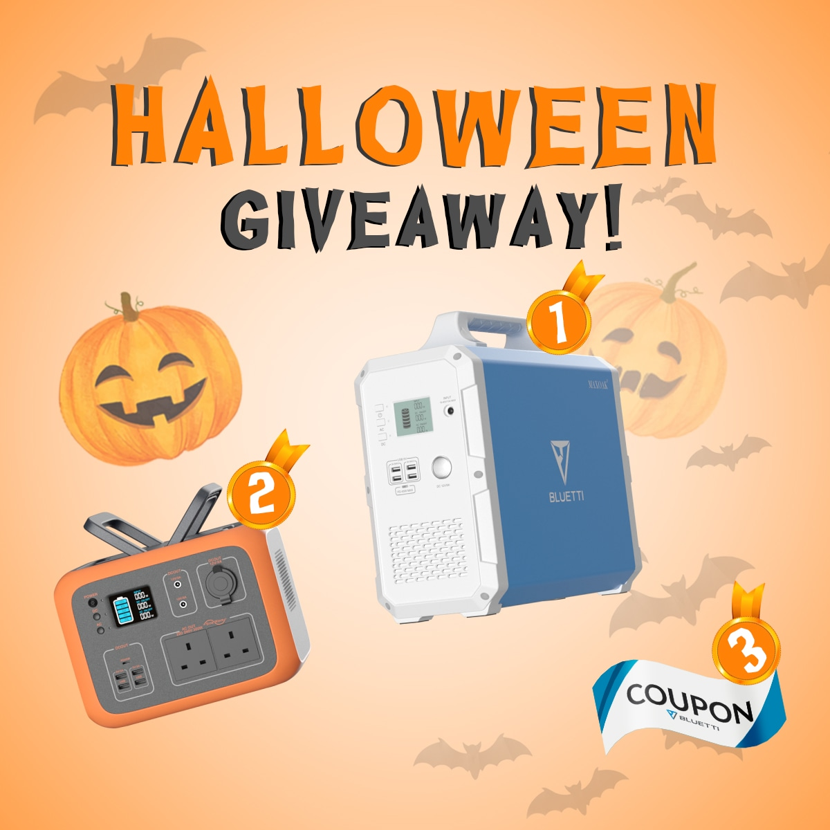 Bluetti Halloween Warm-up Giveaway