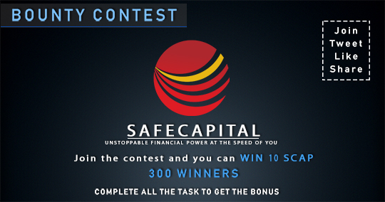 SafeCapital (SCAP) Bounty Program