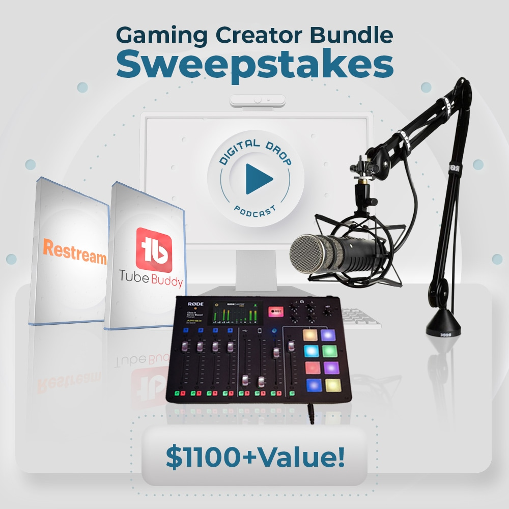 Win a COMPLETE RODE Recording and Livestreaming Setup!