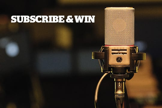 Enter to win an Austrian Audio OC818 Microphone worth $2,000. Giveaway Image