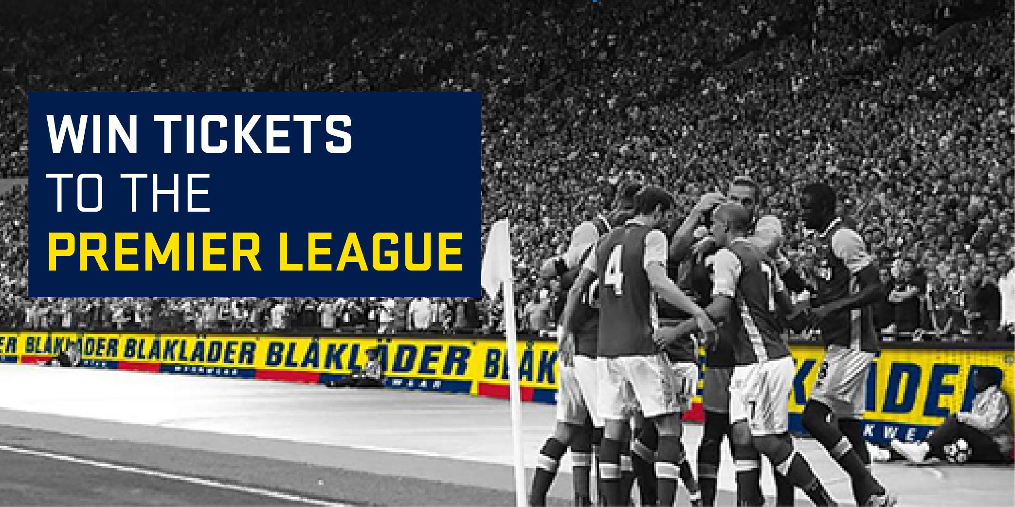 Enter for a chance to win a trip to London, England with tickets to a Premier League soccer game Giveaway Image