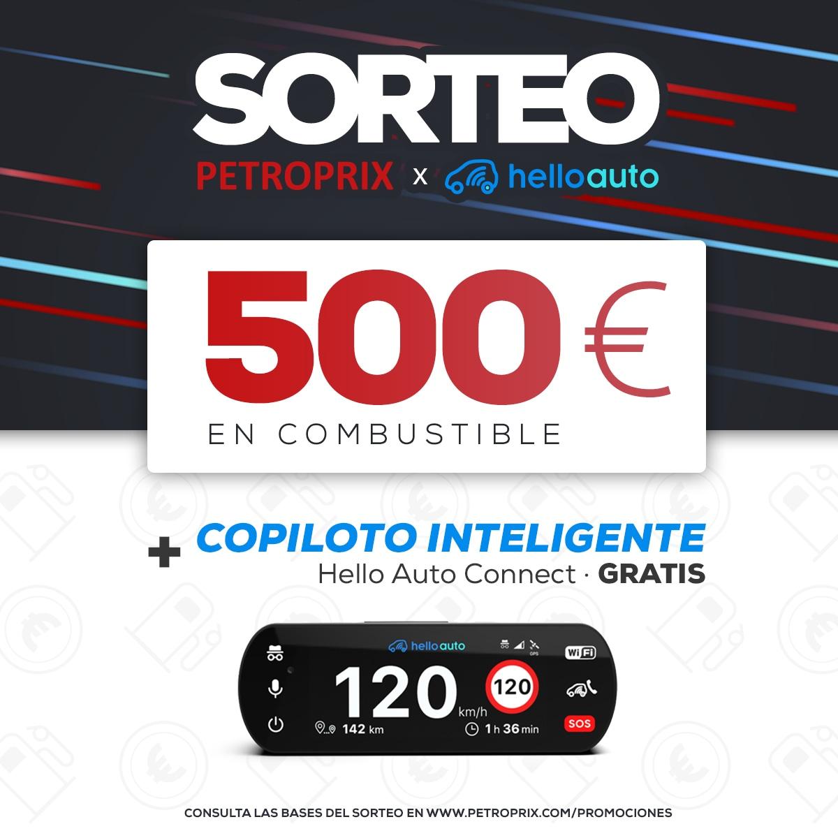 �500 in Fuel + Smart Copilot. PETROPRIX Giveaway x HELLO AUTO Giveaway Image