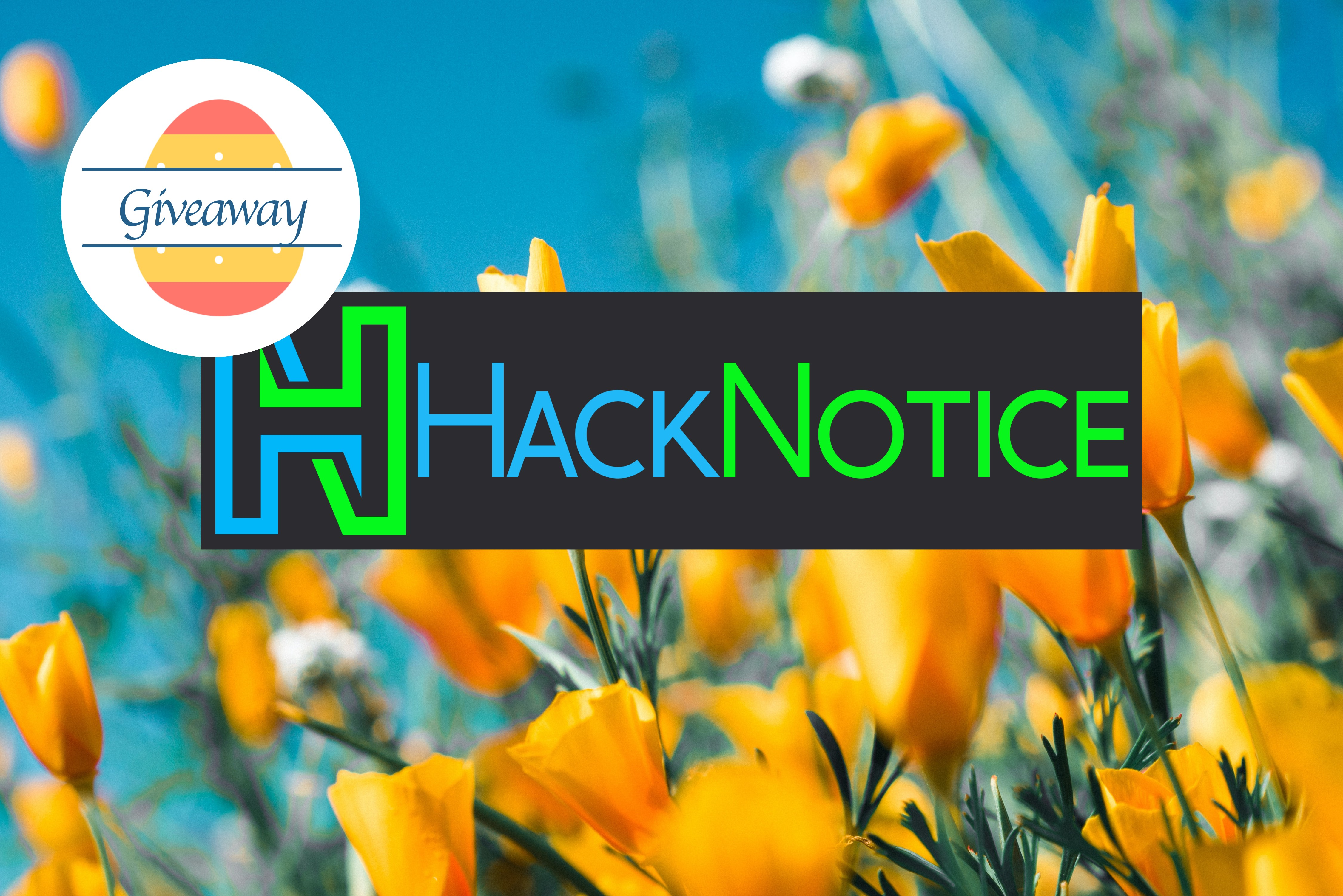 Enter to win a year of HackNotice Premium Service  Entrants must be active members of the HackNotice newsletter and have an active HackNotice personal account to be eligible to win. Giveaway Image