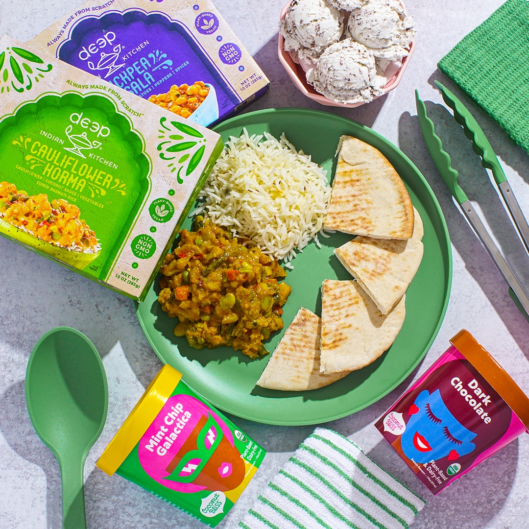 Coconut Bliss + Deep Indian Kitchen Giveaway Image