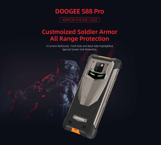 DOOGEE S88Pro Phone + S88Pro Case, 2x DOOGEE Mobile Electronic Purifier and 5x DOOGEE S88Pro Case Giveaway Image