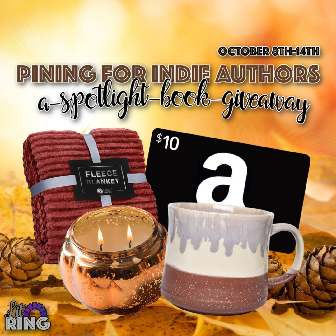 Enter to win a Ceramic Mug, a Comfy Fleece Blanket, a Pumpkin Candle Decor, and a $10 Amazon Gift Card Giveaway Image