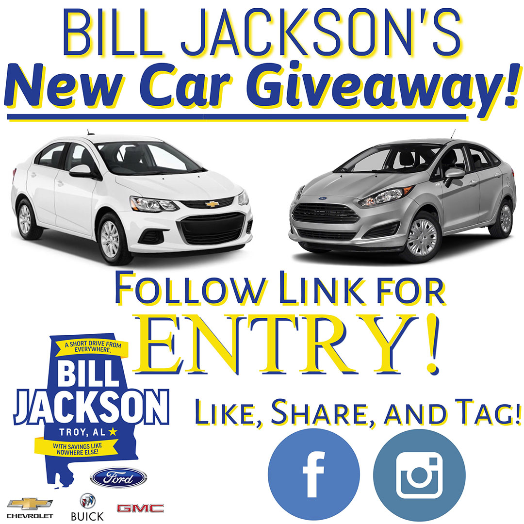 Bill Jackson's New Ford or Chevrolet Vehicle Giveaway! Giveaway Image