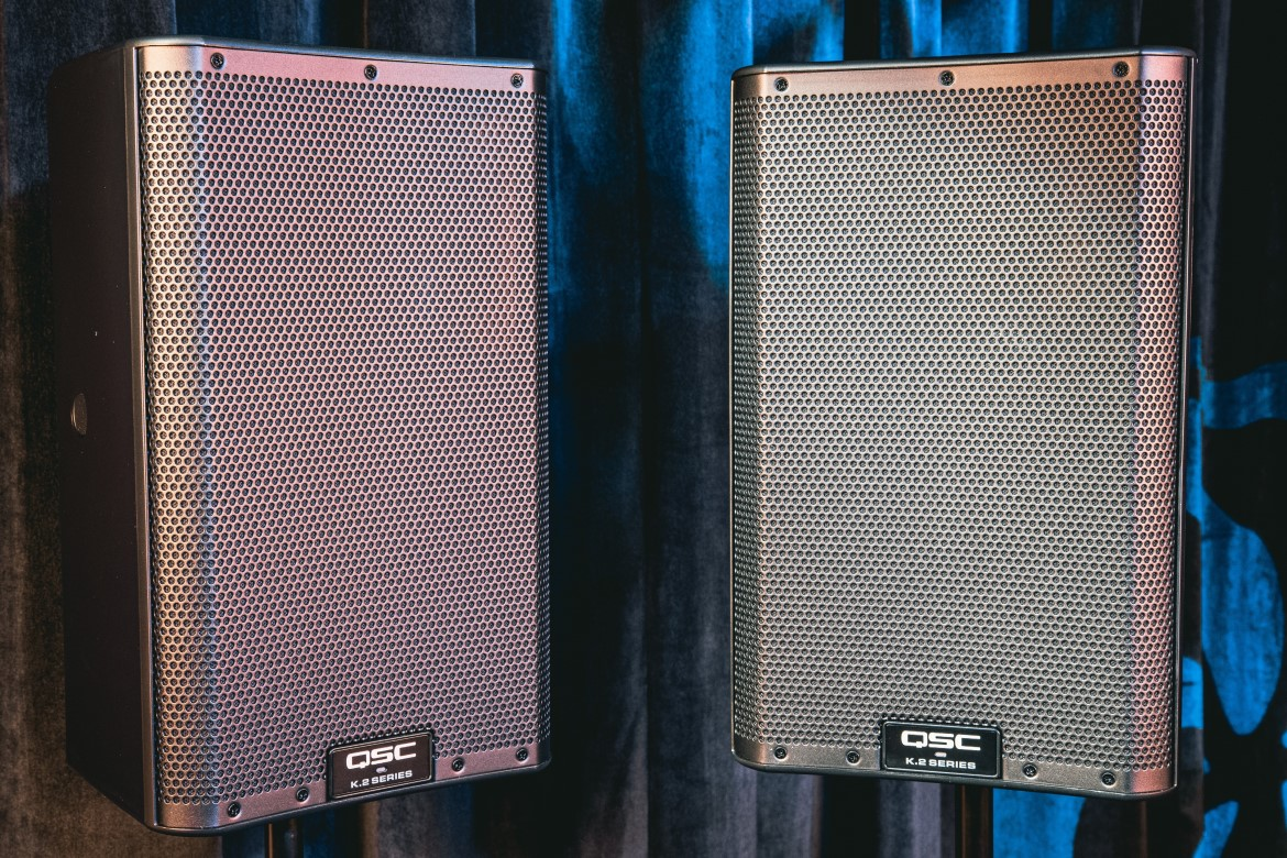 $1299 pair of QSC K8.2 Loudspeakers Giveaway Giveaway Image