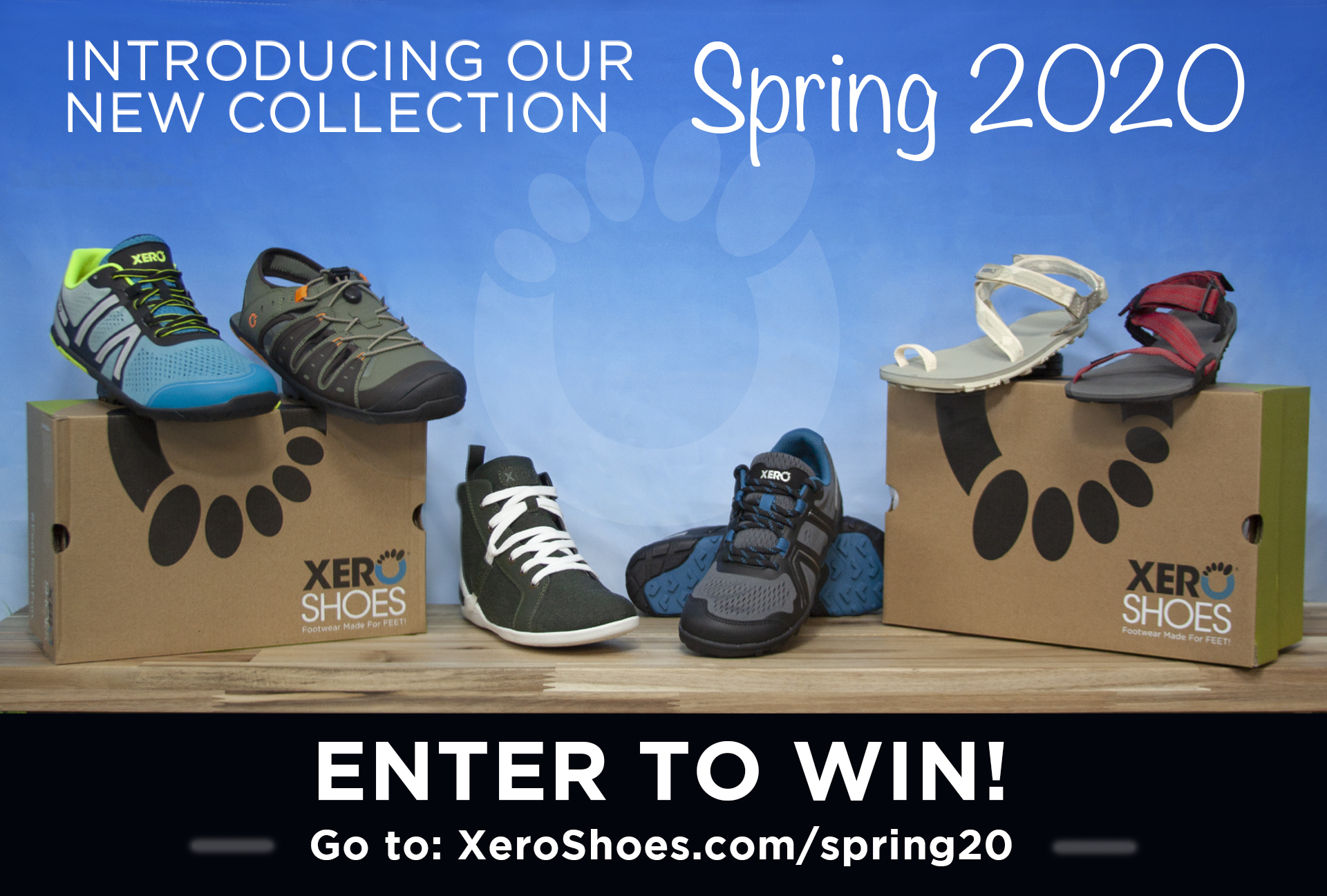 WIN 1 of several $100 Xero Shoes gift certificates! Giveaway Image