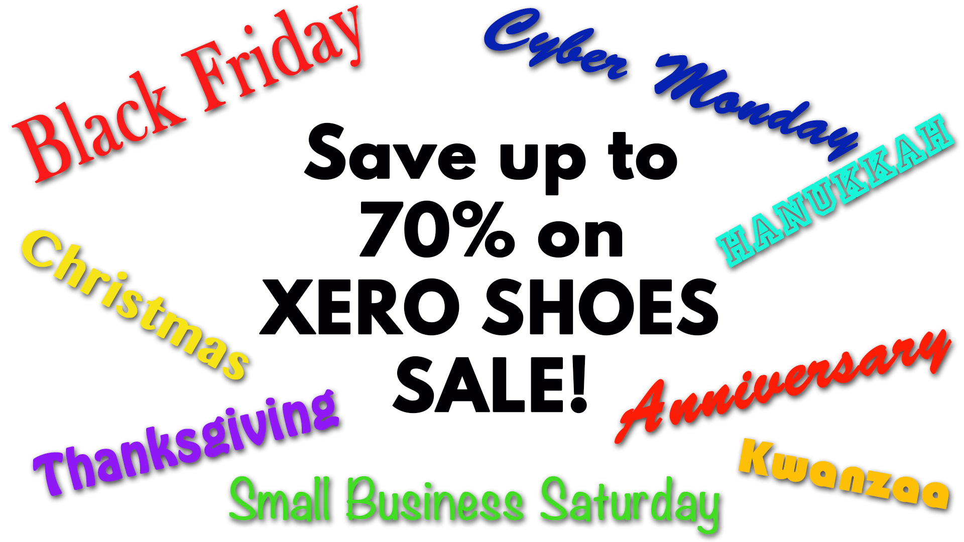 Win a $50 Xero Shoes Gift Certificate! Giveaway Image