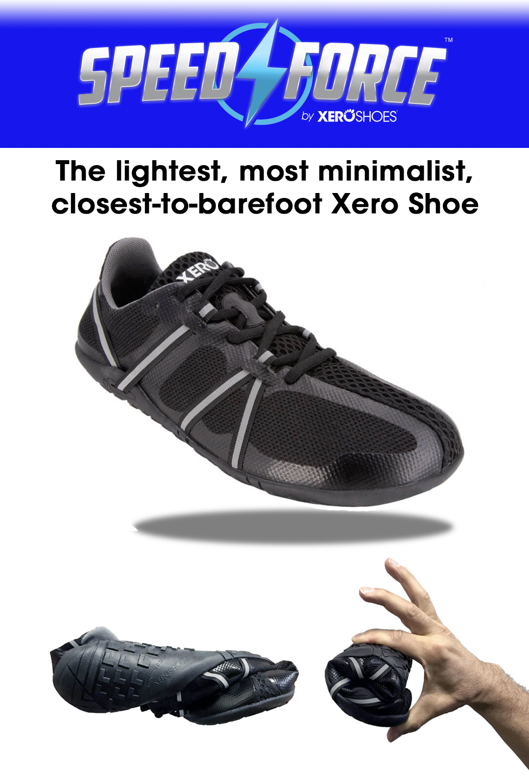 Win The New Xero Shoes Speed Force