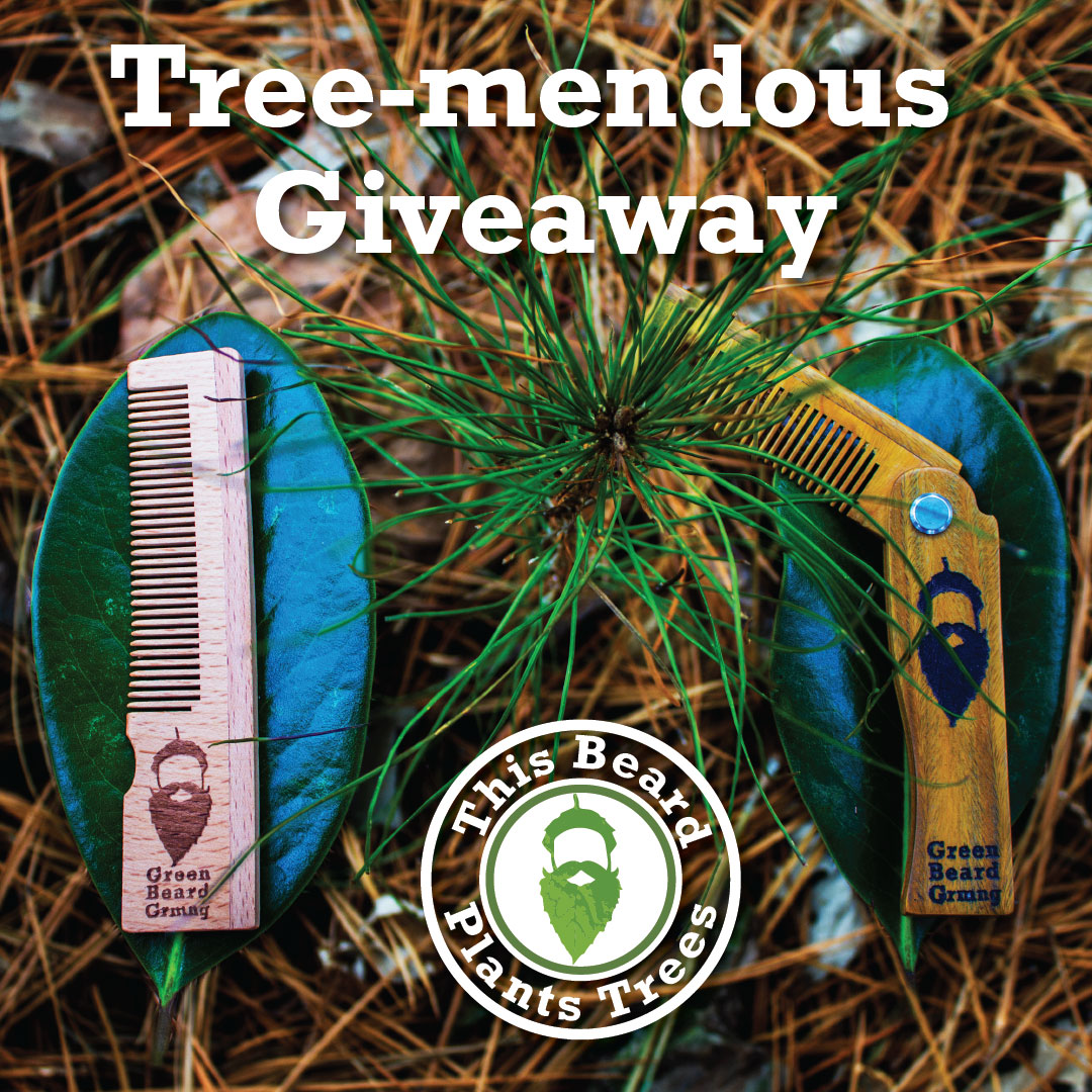 Enter to win a Tree-mendous Folding Comb and a 3-pack of Naturally Normal Pocket Combs. Giveaway Image