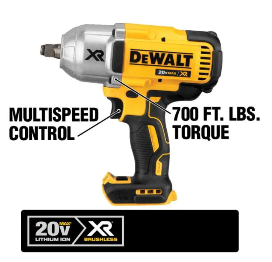 Win a DeWalt DCF899 Brushless 1/2 in. High Torque Automatic Impact Wrench Giveaway Image