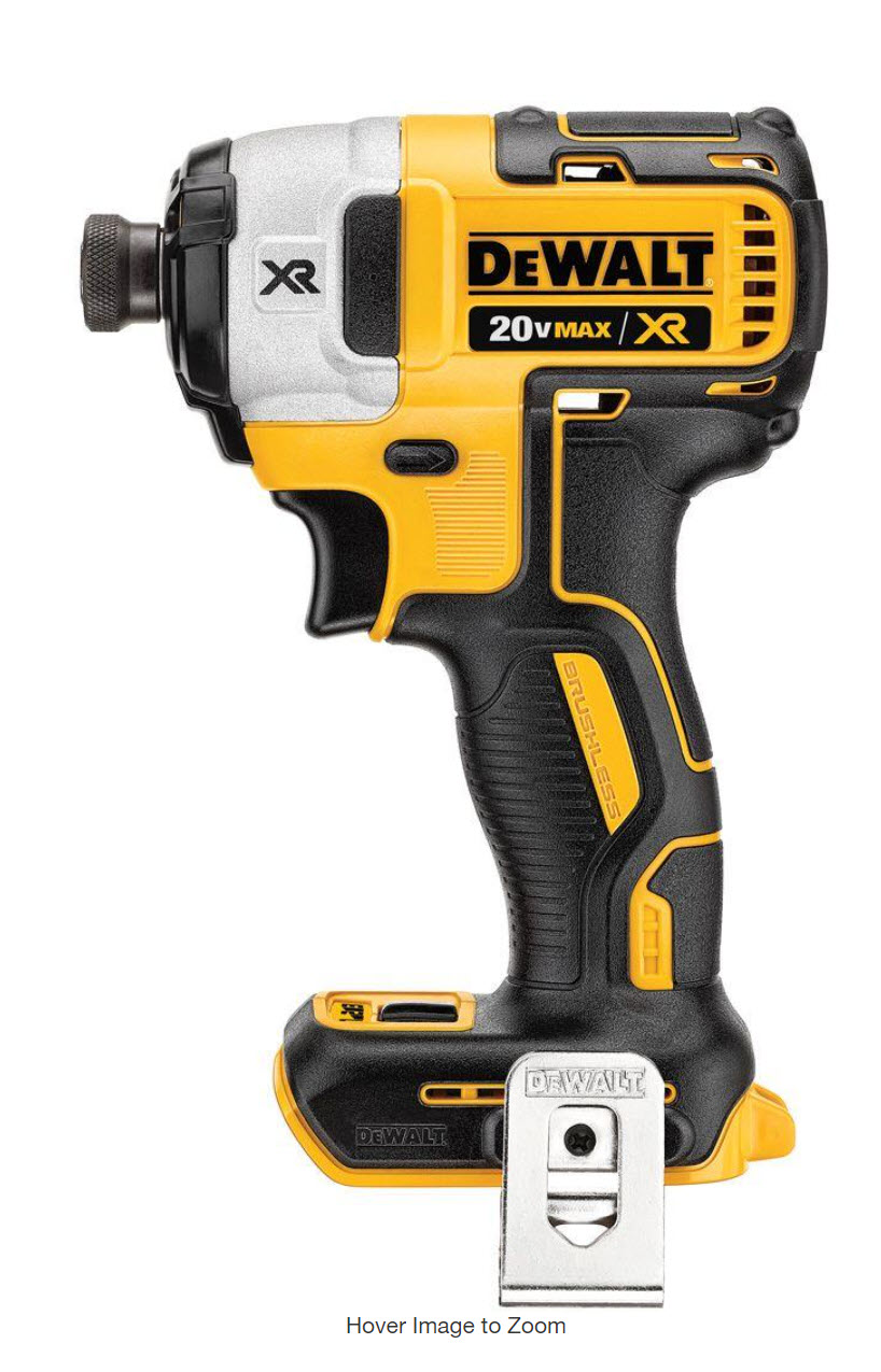 Win a DeWalt DCF887 XR Cordless Brushless 3-Speed 1/4 in. Impact Driver Giveaway Image