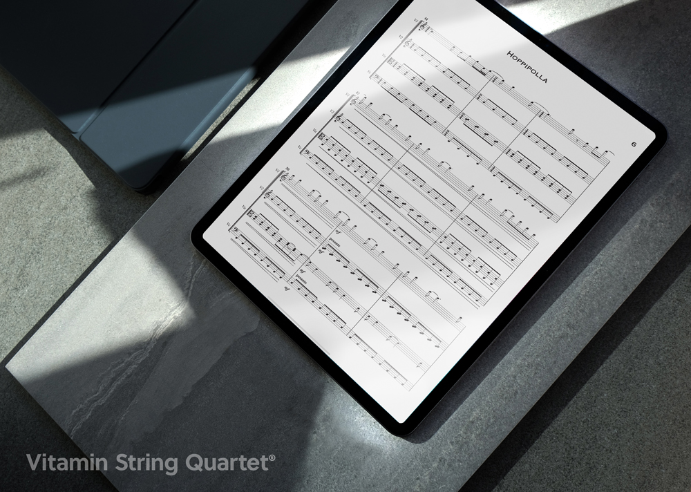 Win an Apple iPad Pro and AirPods from Vitamin String Quartet! Giveaway Image