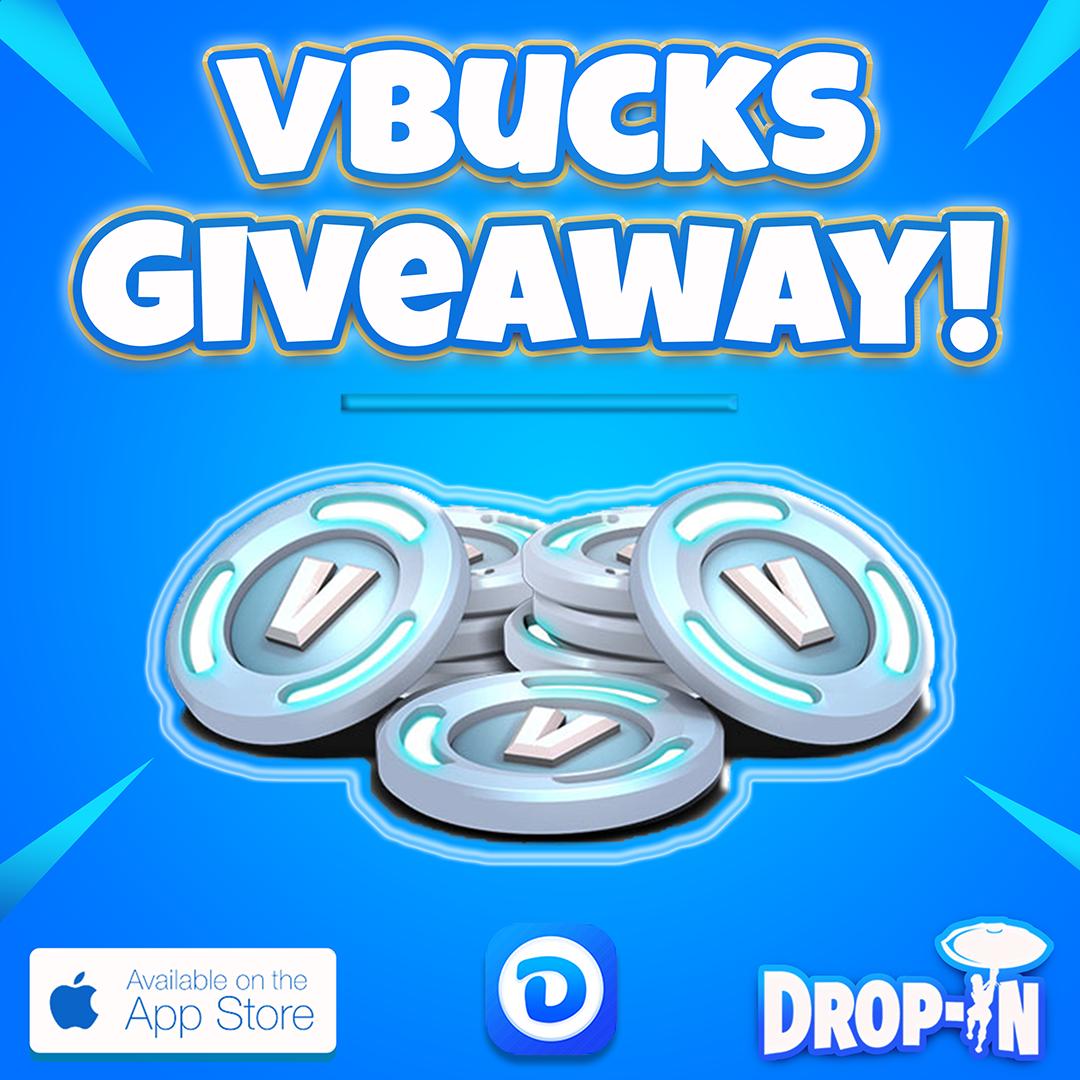Enter to win a $25 V-Bucks Gift Card (2,800 V-Bucks) OR 1 of 4 $10 V-Bucks Gift Cards (1,000 V-Bucks) Giveaway Image