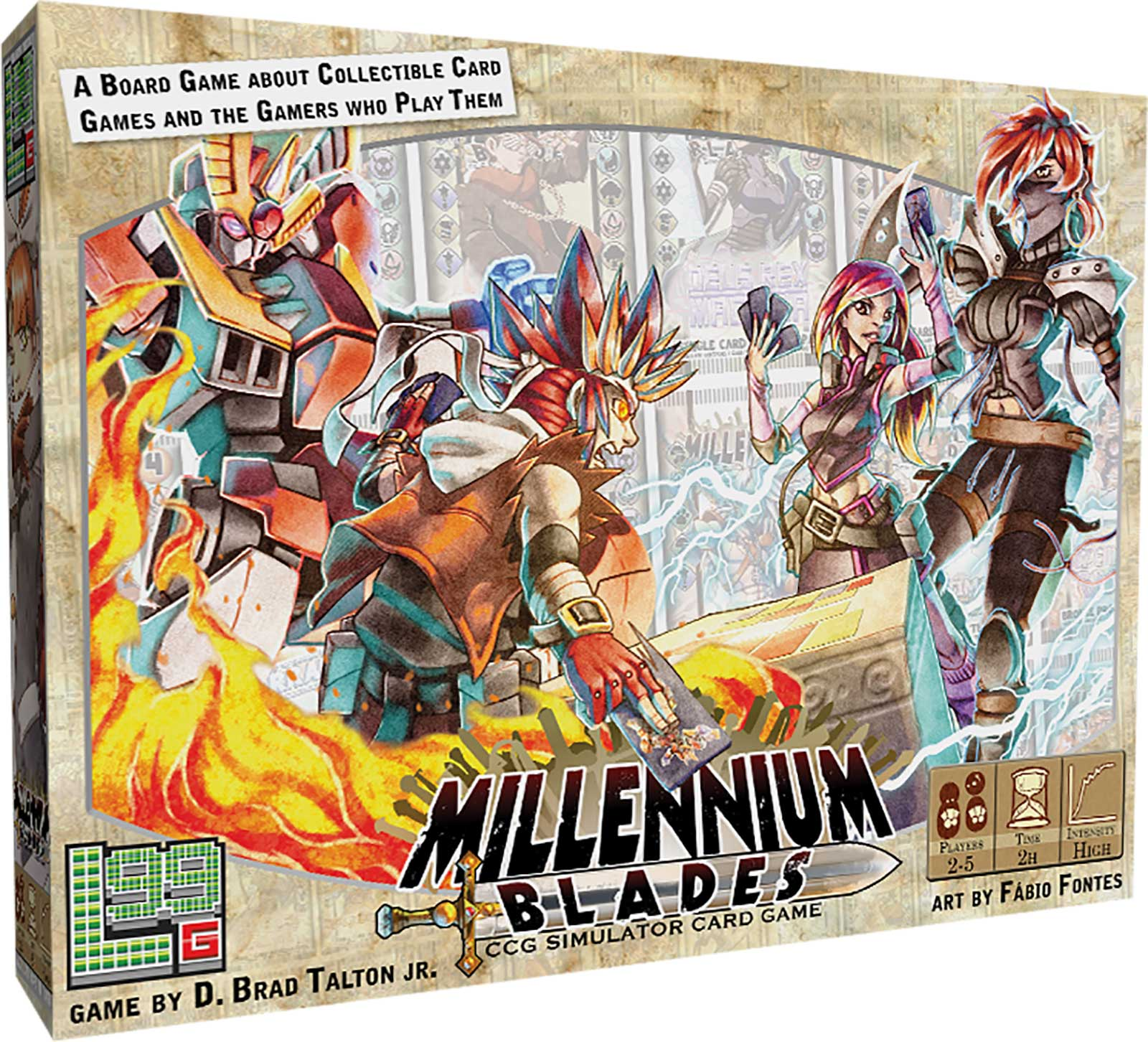 Win the board game Millennium Blades Giveaway Image