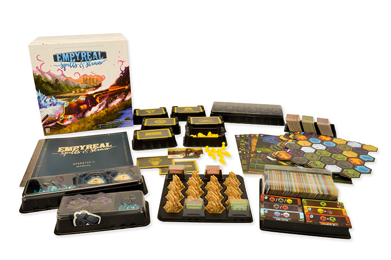 Win the board game Empyreal: Spells & Steam Giveaway Image