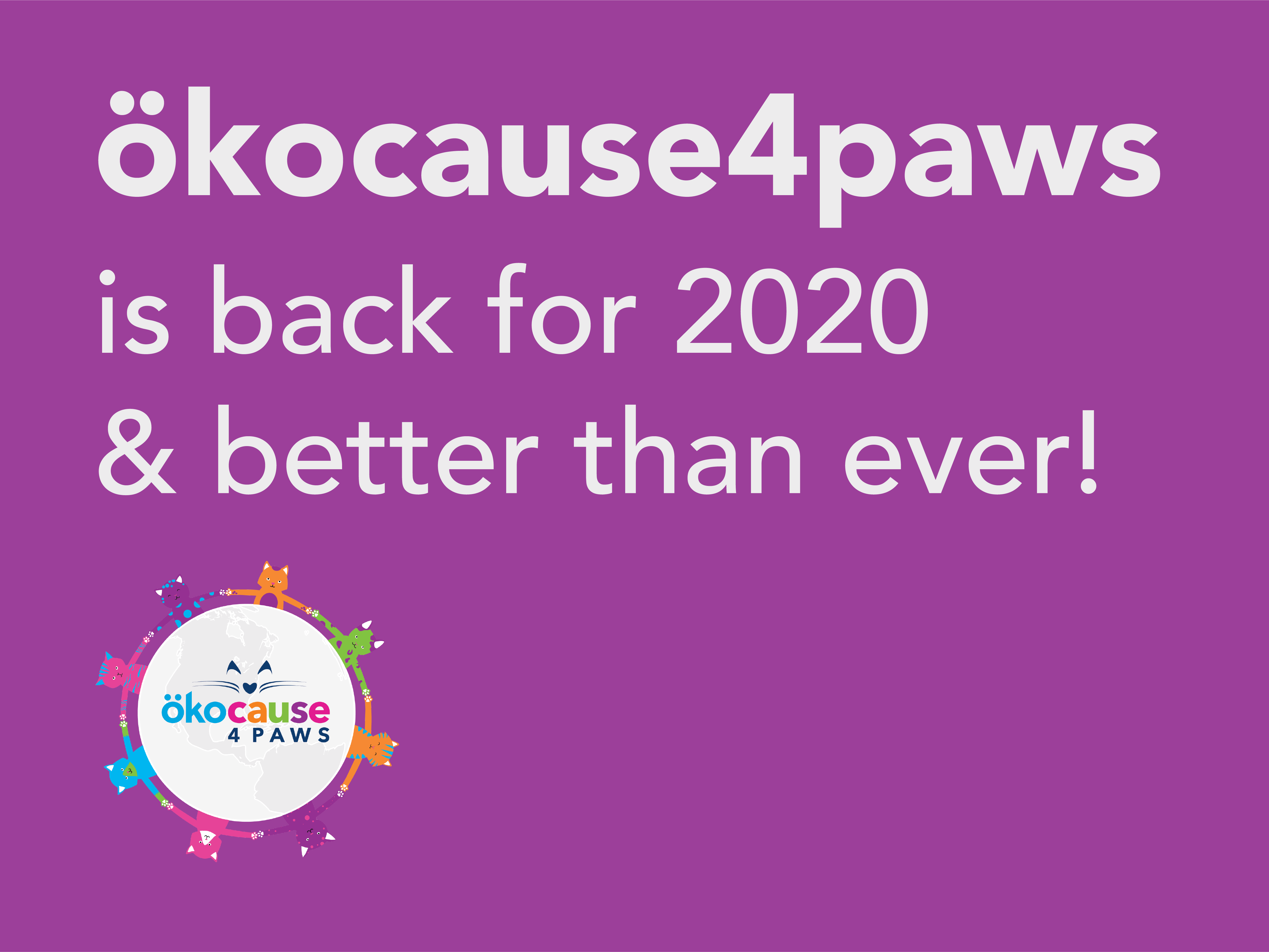 ökocause4paws Litter Donation Program Giveaway Image