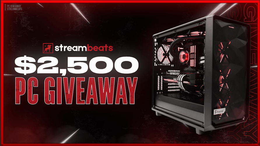 online contests, sweepstakes and giveaways - $2,500 PC or $2,000 CASH by StreamBeats & DNP3 - Rock